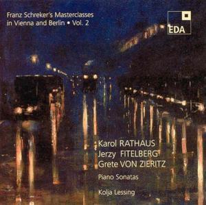 Franz Schreker'S Masterclasses In Vienna/Berlin 2, Kolja Lessing