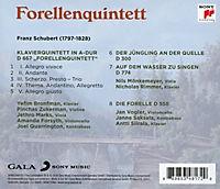 Franz Schubert: Forellenquintett - Produktdetailbild 1