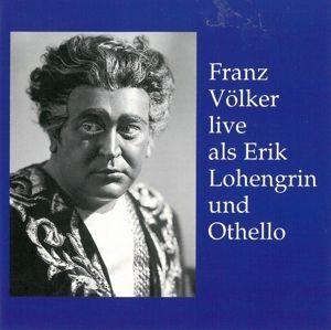 "Franz Völker Live, Franz Völker, Franz V""lker"