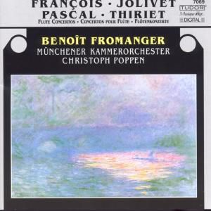 Französische Flötenkonzerte, Benoit Fromanger, Poppen, Mko