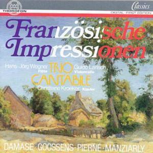 Französische Impressionen, Trio Cantabile