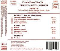 Französische Klaviertrios Vol. 1 - Produktdetailbild 1