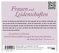 Frauen und Leidenschaften, 1 Audio-CD - Produktdetailbild 1