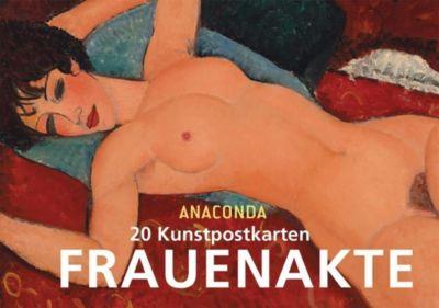 Frauenakte Postkartenbuch, Anaconda