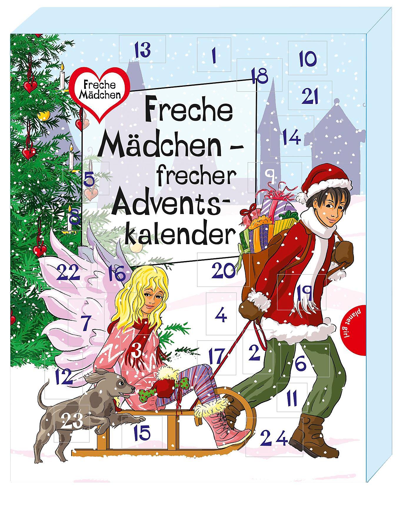 Weihnachtskalender 2019 Mädchen.Freche Mädchen Frecher Adventskalender Buch Portofrei Bestellen