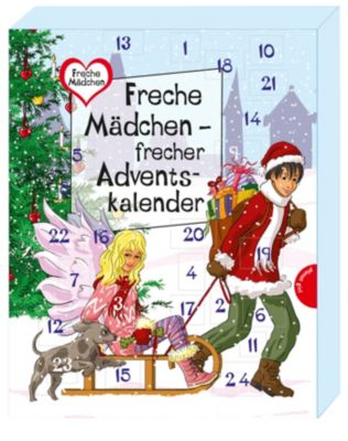 Freche Mädchen - frecher Adventskalender, Sabine Both, Thomas Brinx, Anja Kömmerling, Chantal Schreiber, Hortense Ullrich, Bianka Minte-König, Martina Sahler, Irene Zimmermann