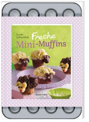 Freche Mini-Muffins, m. Backform, Luise Lilienthal