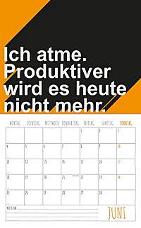 Freche Sprüche Kalender 2018 + 2 Blechschilder - Produktdetailbild 6