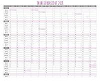 Freche Sprüche Kalender 2018 + 2 Blechschilder - Produktdetailbild 13