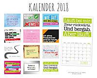 Freche Sprüche Kalender 2018 + 2 Blechschilder - Produktdetailbild 15