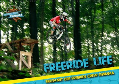 Freeride Life (Wandkalender 2019 DIN A2 quer), Patrick Freiberg