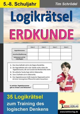 Freiarbeit: Logikrätsel Erdkunde, Tim Schrödel