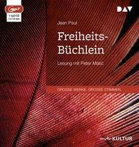 Freiheits-Büchlein, 1 MP3-CD, Jean Paul