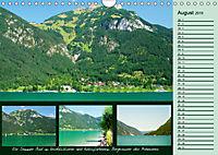 Freizeitparadies Achensee - Genuss-Erlebnisse auf,über und um den See (Wandkalender 2019 DIN A4 quer) - Produktdetailbild 8