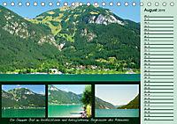 Freizeitparadies Achensee - Genuss-Erlebnisse auf,über und um den See (Tischkalender 2019 DIN A5 quer) - Produktdetailbild 8