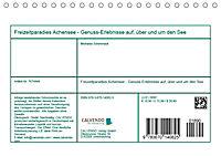 Freizeitparadies Achensee - Genuss-Erlebnisse auf,über und um den See (Tischkalender 2019 DIN A5 quer) - Produktdetailbild 13