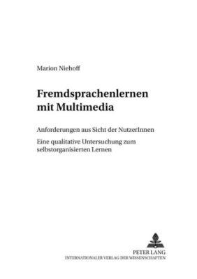 Fremdsprachenlernen mit Multimedia, Marion Niehoff