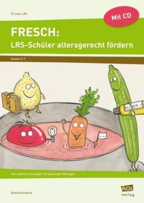 FRESCH: LRS-Schüler altersgerecht fördern, m. CD-ROM, Bettina Rinderle