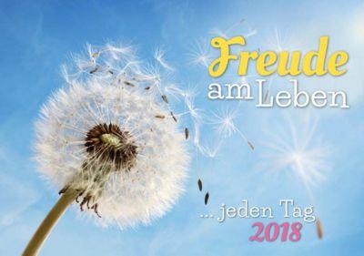 Freude am Leben Tisch-Aufstellkalender 2018
