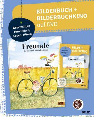 Freunde, Bilderbuch + Bilderbuchkino auf DVD, Helme Heine