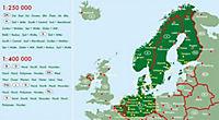 Freytag & Berndt Atlas Skandinavien Superatlas, Autoaltas 1:250.000 - 1:400.000; Superatlas Scandinavia / Superatlas Sca - Produktdetailbild 1