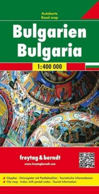 Freytag & Berndt Auto + Freizeitkarte Bulgarien; Bulgarije. Bulgaria. Bulgarie -  pdf epub