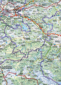Freytag & Berndt Auto + Freizeitkarte Bulgarien; Bulgarije. Bulgaria. Bulgarie - Produktdetailbild 2