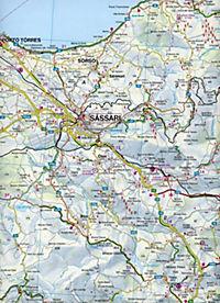 Freytag & Berndt Auto + Freizeitkarte Sardinien Nord - Sardinien Süd, 2 Bl.; Sardinia North / Sardegna della Nord / Sard - Produktdetailbild 1