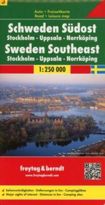Freytag & Berndt Autokarte + Freizeitkarte Schweden Südost; Östra Svealand; Zweden Zuidoost; Sweden Southeast; Dudest de -  pdf epub