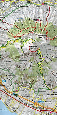 Freytag & Berndt Autokarte Golf von Neapel; Bay of Naples; Golfo di Napoli; Golfe de Naples; Golfo de Nápoles - Produktdetailbild 2