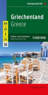 Freytag & Berndt Autokarte Griechenland / Griekenland / Greece; Grèce; Grecia