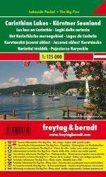 Freytag & Berndt Autokarte Kärntner Seenland; Carinthian Lakes; Les lacs en Carinthie; Laghi della carizia; Het Karinthi