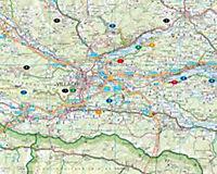 Freytag & Berndt Autokarte Kärntner Seenland; Carinthian Lakes; Les lacs en Carinthie; Laghi della carizia; Het Karinthi - Produktdetailbild 1
