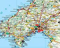 Freytag & Berndt Autokarte Mallorca; Majorca; Majorque; Maiorca; Maloka; Majorka - Produktdetailbild 1