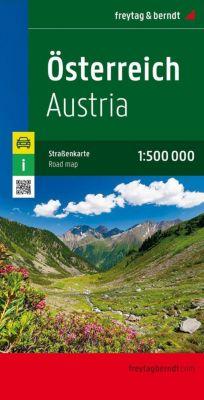 Freytag & Berndt Autokarte Österreich; Austria; Autriche -  pdf epub