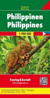 Freytag & Berndt Autokarte Philippinen; Filipinas; Filipijnen