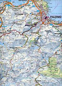 Freytag & Berndt Autokarte Sizilien - Palermo, Top 10 Tips, Autokarte 1:150.000; Sicilia, Palermo; Sicilie, Palermo - Produktdetailbild 2