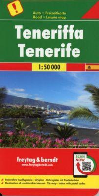 Freytag & Berndt Autokarte Teneriffa; Tenerife