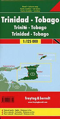 Freytag & Berndt Autokarte Trinidad, Tobago; Trinite, Tobago - Produktdetailbild 1