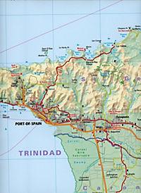 Freytag & Berndt Autokarte Trinidad, Tobago; Trinite, Tobago - Produktdetailbild 2