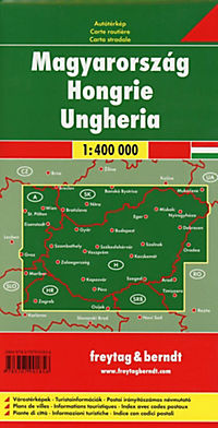 Freytag & Berndt Autokarte Ungarn; Magyarország. Hongarije. Hungary. Hongrie. Ungheria - Produktdetailbild 1