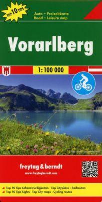 Freytag & Berndt Autokarte Vorarlberg