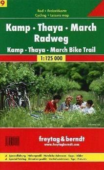 Freytag & Berndt Rad- + Freizeitkarte Kamp-Thaya-March Radweg; Kamp-Thaya-March Bike Trail