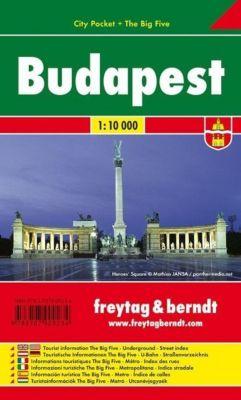 Freytag & Berndt Stadtplan Budapest