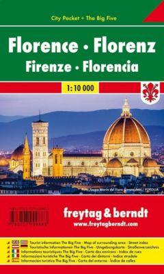 Freytag & Berndt Stadtplan Florenz; Florence; Firenze; Florencia; Florencie; Florencja -  pdf epub