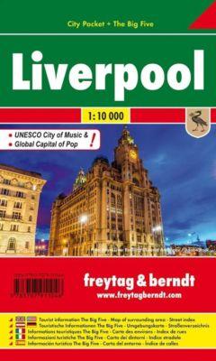 Freytag & Berndt Stadtplan Liverpool