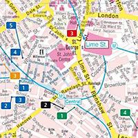 Freytag & Berndt Stadtplan Liverpool - Produktdetailbild 1