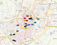 Freytag & Berndt Stadtplan Santiago de Compostela; Saint Jacques-de-Compostelle; Santiago di Compostela; Santiago de Com - Produktdetailbild 1