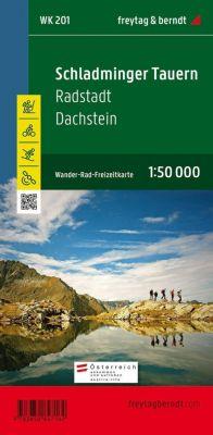 Freytag & Berndt Wander-, Rad- und Freizeitkarte Schladminger Tauern, Radstadt, Dachstein