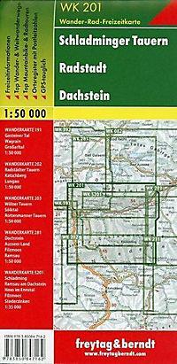 Freytag & Berndt Wander-, Rad- und Freizeitkarte Schladminger Tauern, Radstadt, Dachstein - Produktdetailbild 1